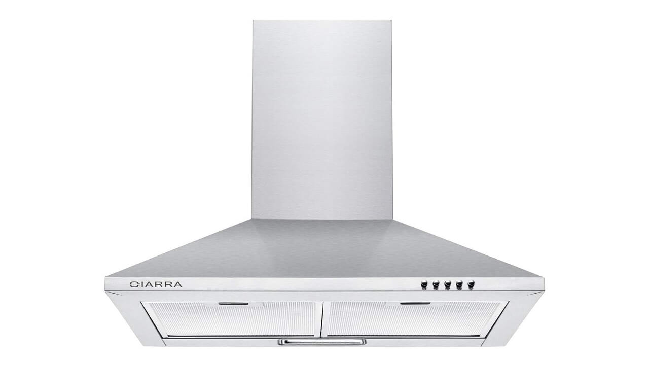 10 Best Wall Mounted Kitchen Extractor Hoods Life With Stuff